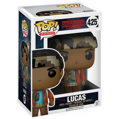 Фигурка Stranger Things - POP! TV - Lucas (9.5 см)