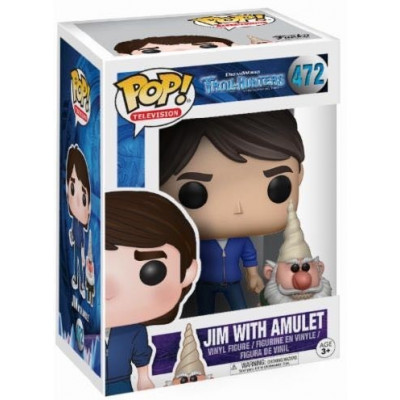 Фигурка Trollhunters - POP! TV - Jim with Amulet (Exc) (9.5 см)