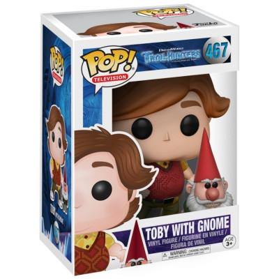 Фигурка Trollhunters - POP! TV - Toby With Gnome (9.5 см)