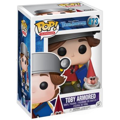 Фигурка Trollhunters - POP! TV - Toby Armored (Exc) (9.5 см)