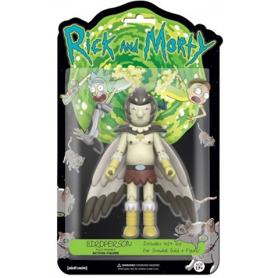 Фигурка Rick & Morty - Action Figure - Bird Person (13 см)