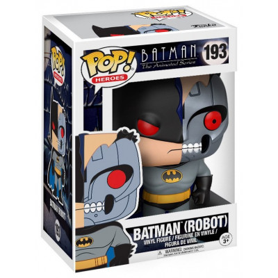 Фигурка Batman: The Animated Series - POP! Heroes - Batman (Robot) (9.5 см)