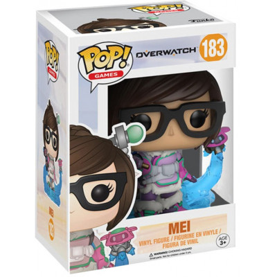 Фигурка Overwatch - POP! Games - Mei Snowball Colour (Exc) (9.5 см)