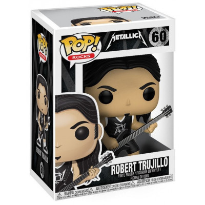 Фигурка Metallica - POP! Rocks - Robert Trujillo (9.5 см)