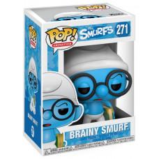 Фигурка The Smurfs - POP! Animation - Brainy Smurf (9.5 см)