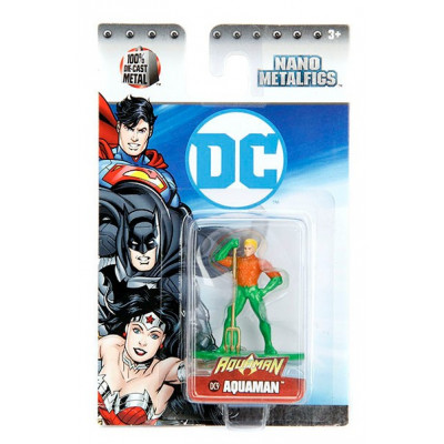 Фигурка DC Comics - Nano Metalfigs - Aquaman (4 см)