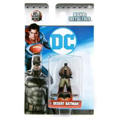 Фигурка Batman v Superman: Dawn of Justice - Nano Metalfigs - Desert Batman (4 см)