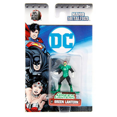 Фигурка DC Comics - Nano Metalfigs - Green Lantern (4 см)