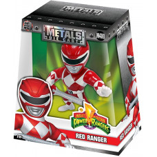 Фигурка Mighty Morphin Power Rangers - Metalfigs - Red Ranger (10 см)