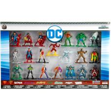 Набор фигурок DC Comics - Nano Metalfigs (20 шт, 4 см)