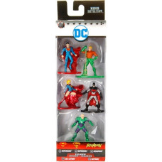 Набор фигурок DC Comics - Nano Metalfigs - Pack 2 (5 шт, 4 см)