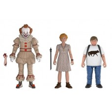 Набор фигурок IT - Action Figure - Pennywise / Ben / Beverly (9.5 см)