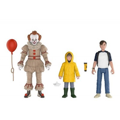 Набор фигурок IT - Action Figure - Pennywise / Bill / Georgie (9.5 см)