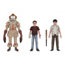 Набор фигурок IT - Action Figure - Pennywise / Richie / Eddie (9.5 см)