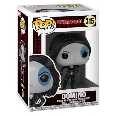Головотряс Deadpool - POP! - Domino (9.5 см)