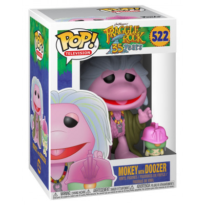 Фигурка Fraggle Rock: 35 Years - POP! TV - Mokey with Doozer (9.5 см)