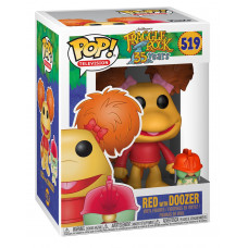 Фигурка Fraggle Rock: 35 Years - POP! TV - Red with Doozer (9.5 см)