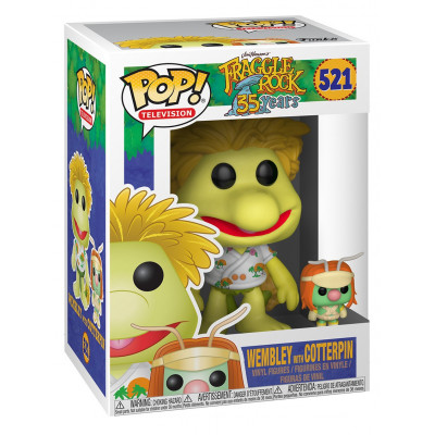 Фигурка Fraggle Rock: 35 Years - POP! TV - Wembley with Doozer (9.5 см)