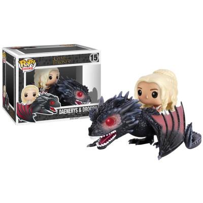 Фигурка Game of Thrones - POP! Rides - Daenerys & Drogon (9.5 см)