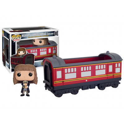 Фигурка Harry Potter - POP! Rides - Hogwarts Express Carriage /w Hermione Granger (9.5 см)