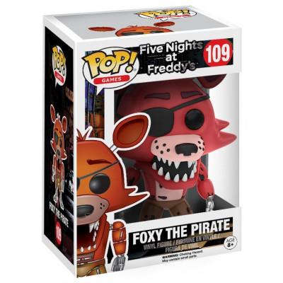 Фигурка Five Nights at Freddy's - POP! Games - Foxy The Pirate (9.5 см)