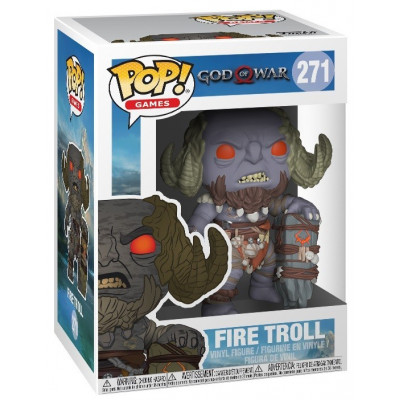 Фигурка God of War - POP! Games - Fire Troll (9.5 см)