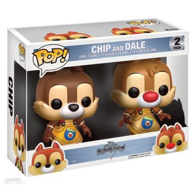 Набор фигурок Kingdom Hearts - POP! - Chip & Dale (9.5 см)