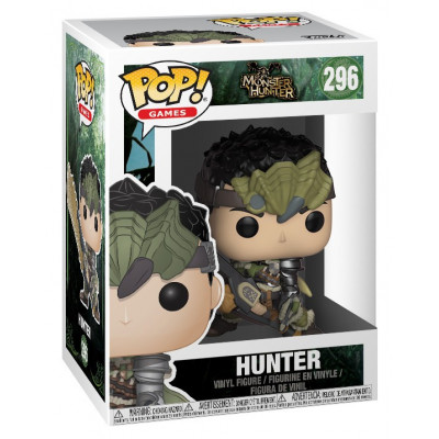 Фигурка Monster Hunter - POP! Games - Hunter (9.5 см)
