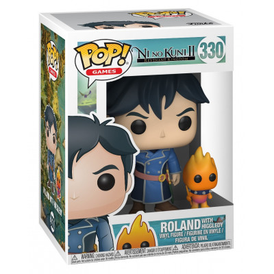 Фигурка Ni no Kuni II: Revenant Kingdom - POP! Games - Roland w/ Higgledy (9.5 см)