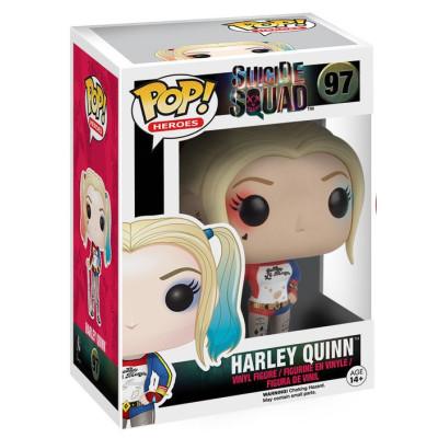 Фигурка Suicide Squad - POP! Heroes - Harley Quinn (9.5 см)