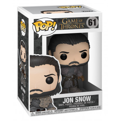 Фигурка Game of Thrones - POP! - Jon Snow (Beyond the Wall) (9.5 см)