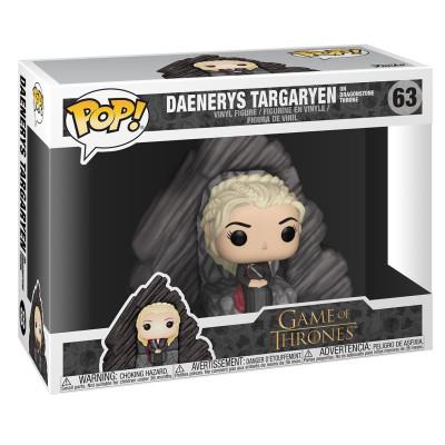 Фигурка Game of Thrones - POP! - Daenerys Targaryen on Dragonstone Throne (9.5 см)