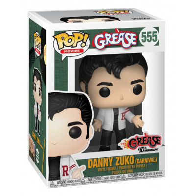 Фигурка Grease - POP! Movies - Danny Zuko (Carnival) (9.5 см)