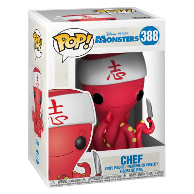 Фигурка Monsters Inc - POP! - Chef (9.5 см)