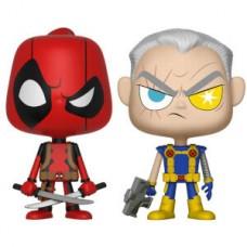 Набор фигурок Deadpool - Vynl - Deadpool & Cable (9.5 см)