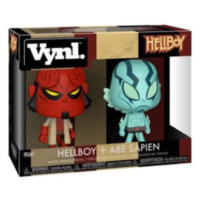 Набор фигурок Hellboy - Vynl - Hellboy & Abe Sapien (9.5 см)