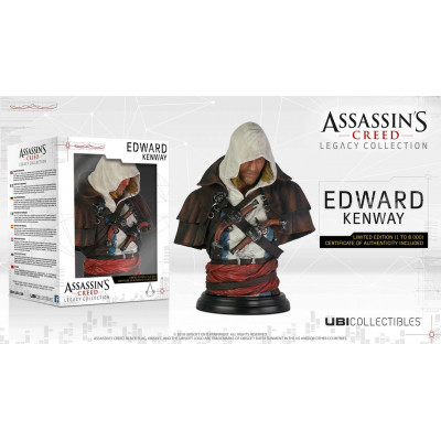 Бюст Assassin's Creed IV: Black Flag - Legacy Collection - Edward Kenway (19 см)