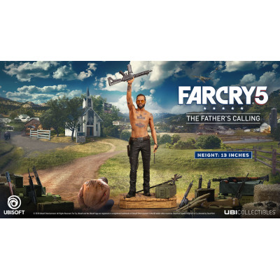 Фигурка Far Cry 5 - Ubicollectibles - Joseph: The Father's Calling (32 см)