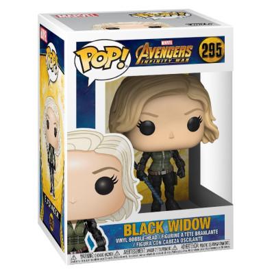 Головотряс Avengers: Infinity War - POP! - Black Widow (9.5 см)
