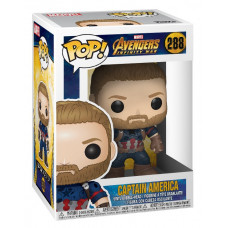 Головотряс Avengers: Infinity War - POP! - Captain America (9.5 см)