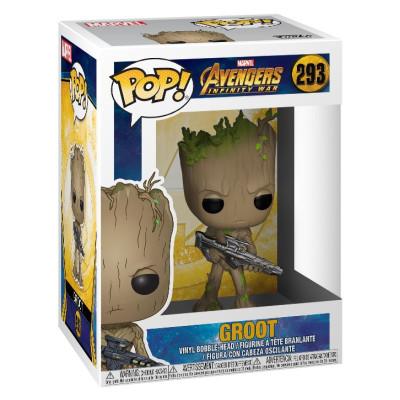 Головотряс Avengers: Infinity War - POP! - Groot (9.5 см)