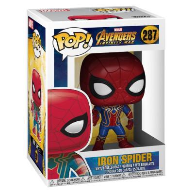 Головотряс Avengers: Infinity War - POP! - Iron Spider (9.5 см)