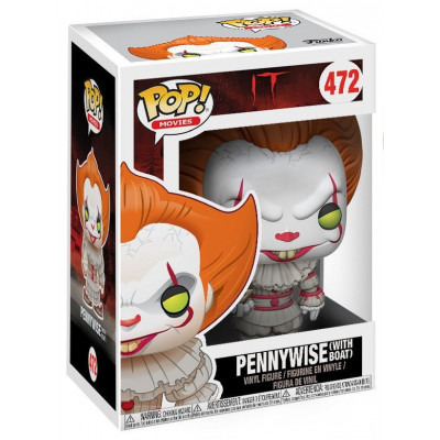 Фигурка IT - POP! Movies - Pennywise w/ Boat (9.5 см)