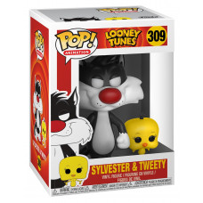Фигурка Looney Tunes - POP! Animation - Sylvester & Tweety (9.5 см)