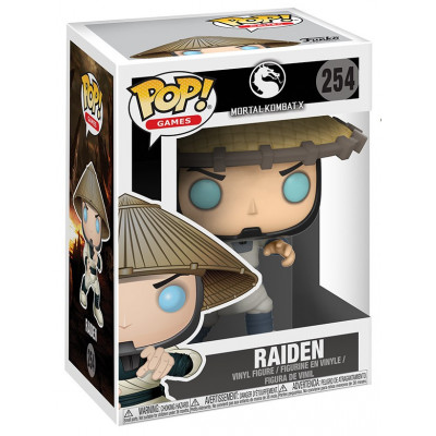 Фигурка Mortal Kombat X - POP! Games - Raiden (9.5 см)