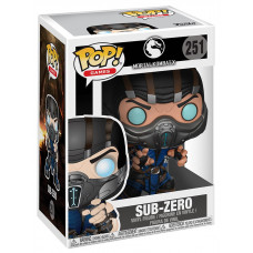Фигурка Mortal Kombat X - POP! Games - Sub-zero (9.5 см)