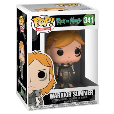 Фигурка Rick & Morty - POP! Animation - Warrior Summer (9.5 см)