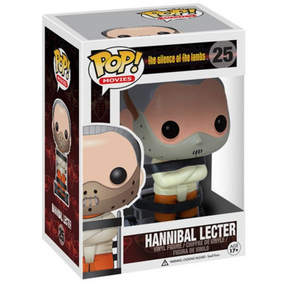 Фигурка The Silence of the Lambs - POP! Movies - Hannibal (9.5 см)