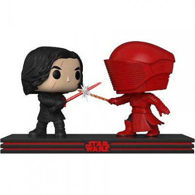 Набор фигурок Star Wars: The Last Jedi - POP! Movie Moment - Kylo & Praetorian Guard (9.5 см)