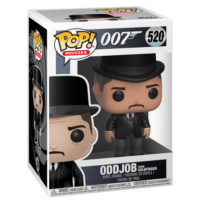 Фигурка 007 - POP! Movies - Oddjob from Goldfinger (9.5 см)